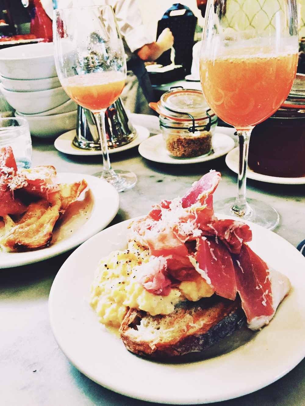 Brunch at Buvette - New York City