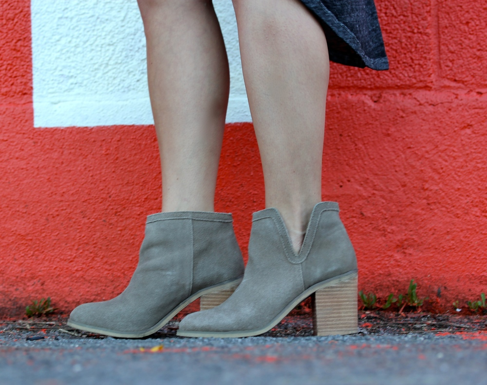 Short suede boots - The Pastiche