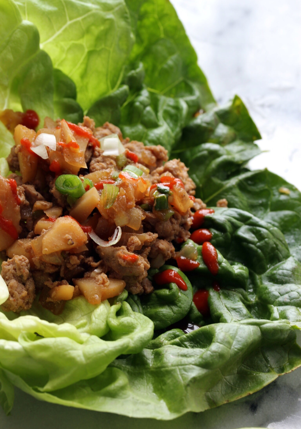 Chinese lettuce wraps - The Pastiche