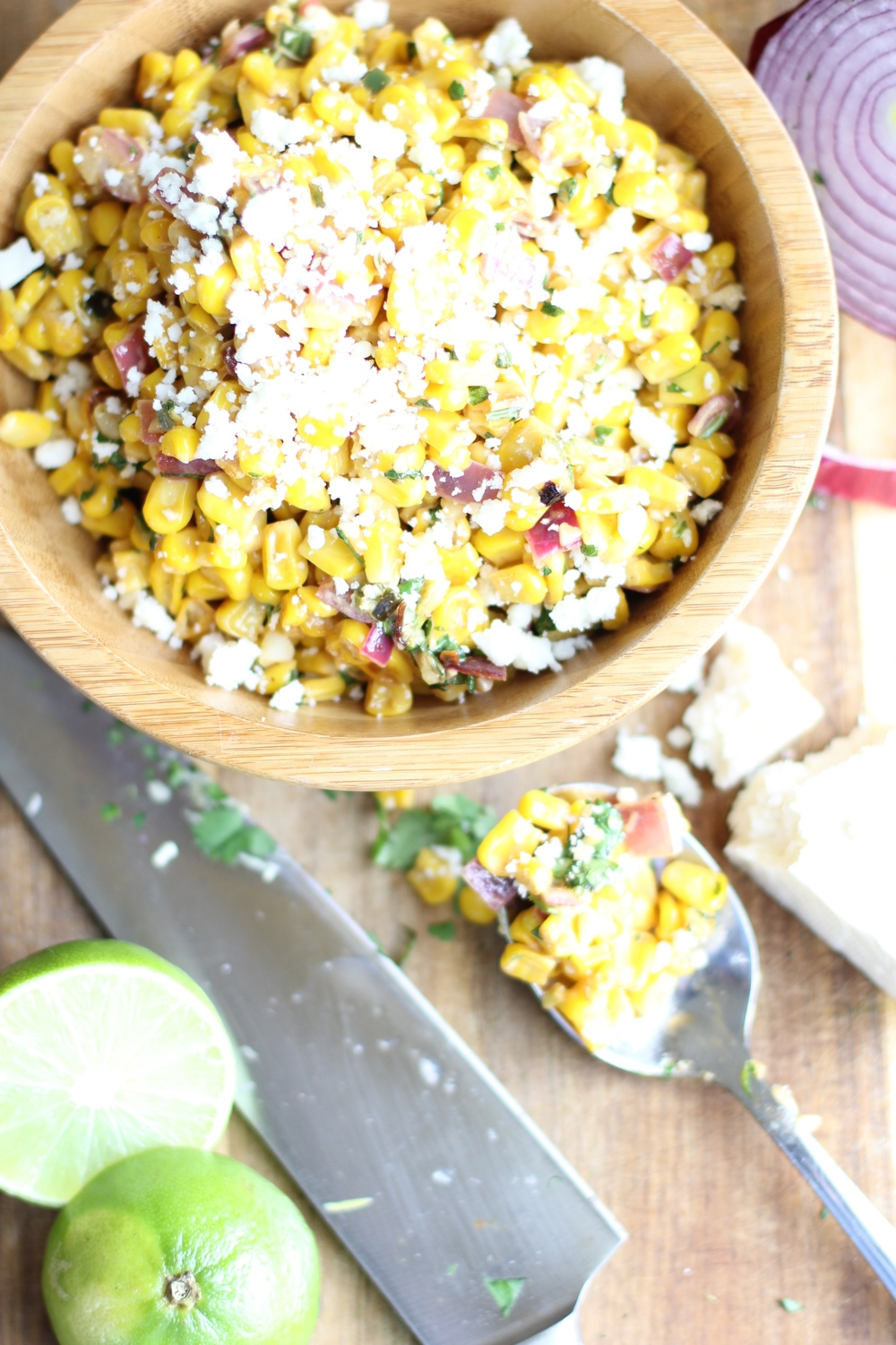 Mexican corn salad - The Pastiche