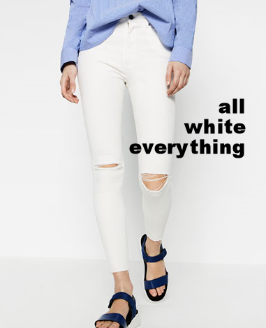 In the market for: all white everything - The Pastiche