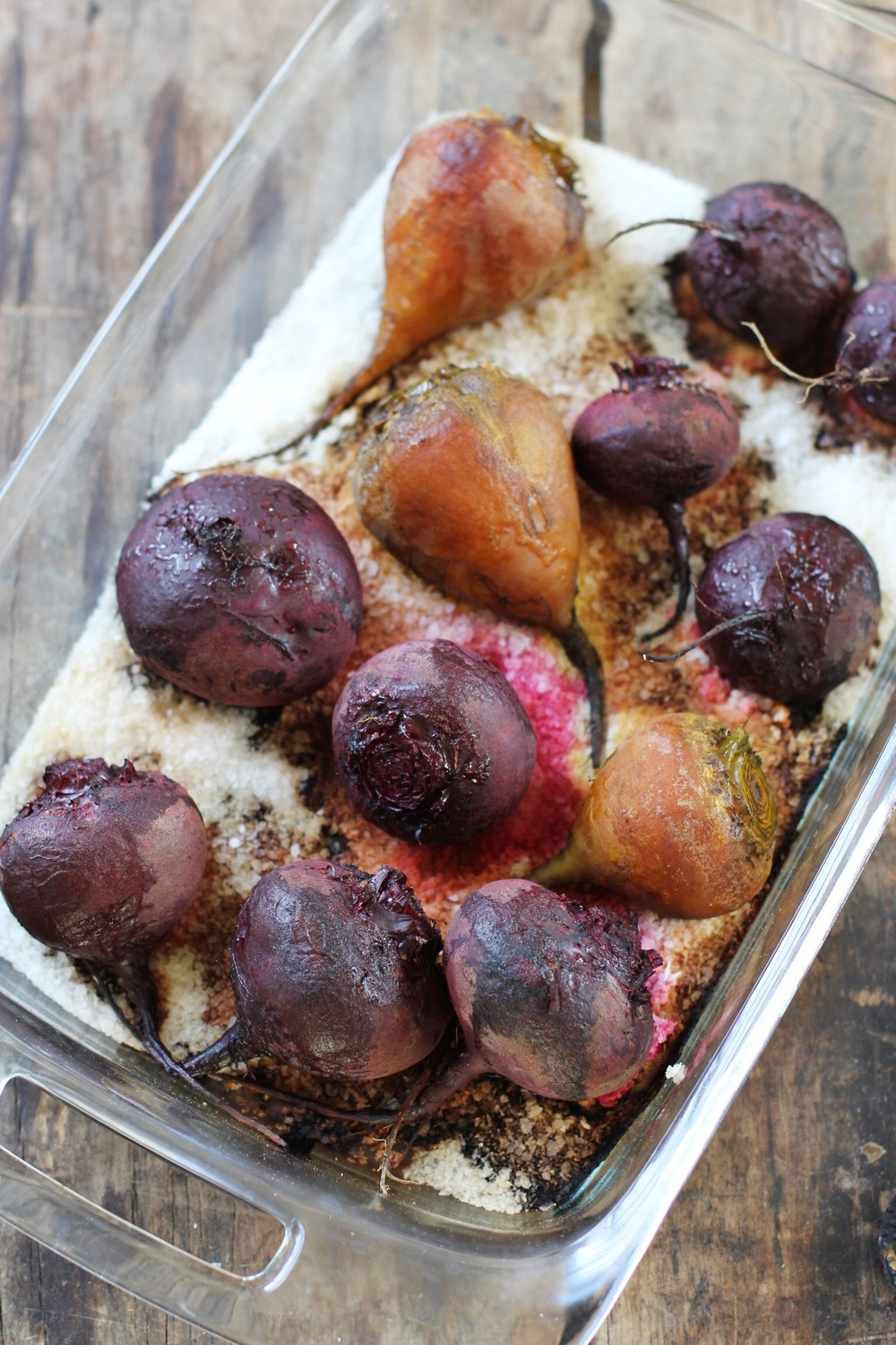 Salt roasted beets - The Pastiche