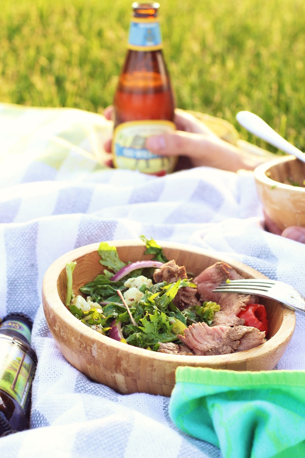 Picnic steak salad  - The Pastiche