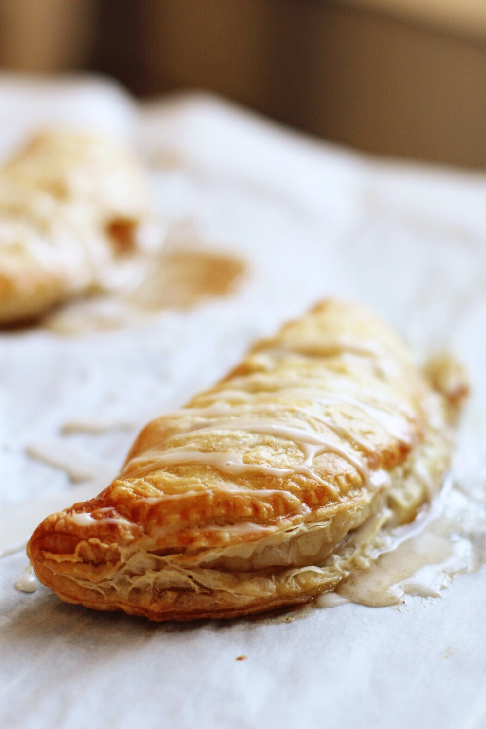 Peach turnovers - The Pastiche