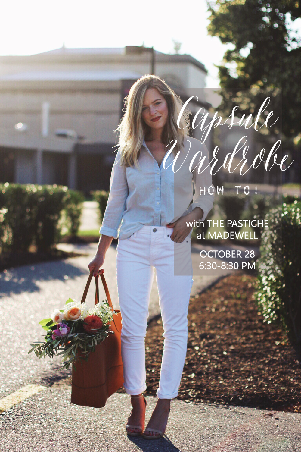 Capsule wardrobe workshop with The Pastiche at Madewell!