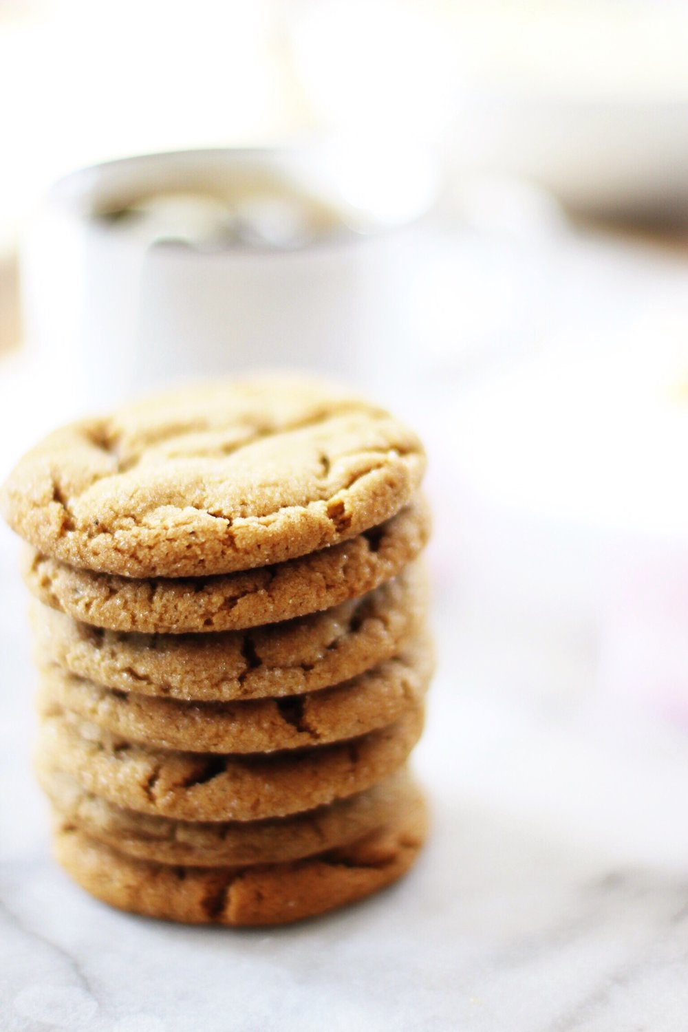 My grandma's soft and chewy gingersnaps - The Pastiche