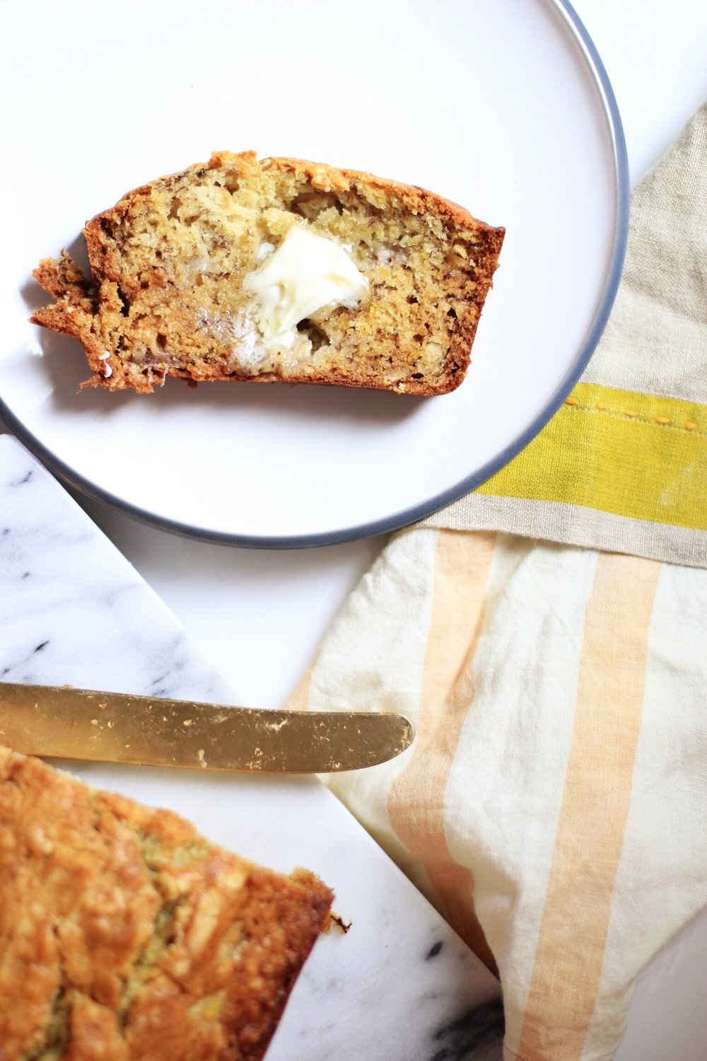 My grandma's classic Banana Bread - The Pastiche