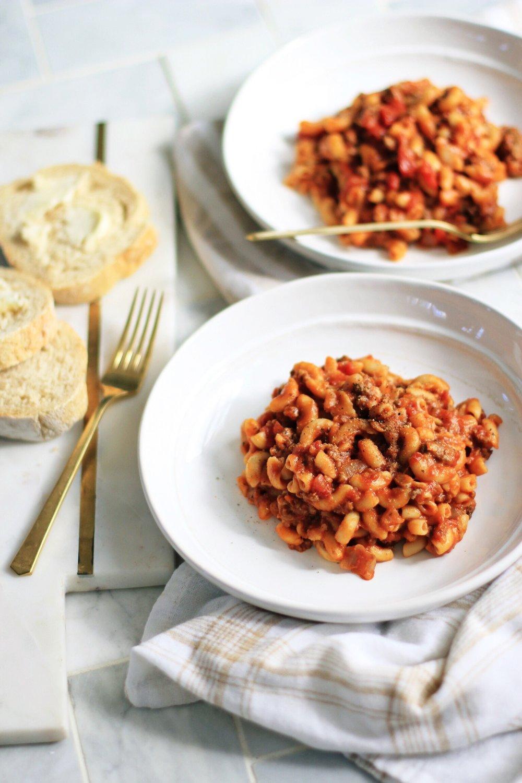 American goulash - The Pastiche