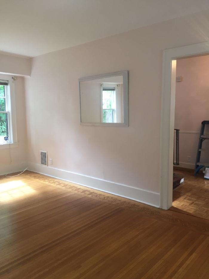Before - living room update