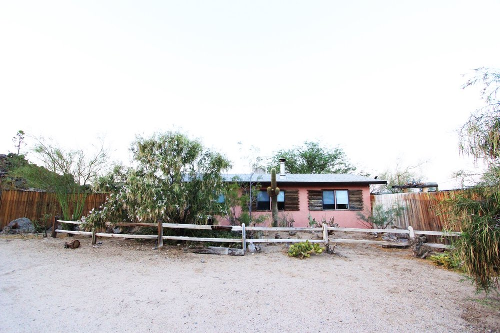 The front of the Joshua Tree Casita