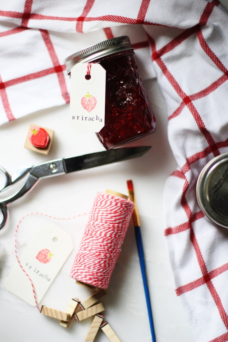 Homemade jam as gift - DIY