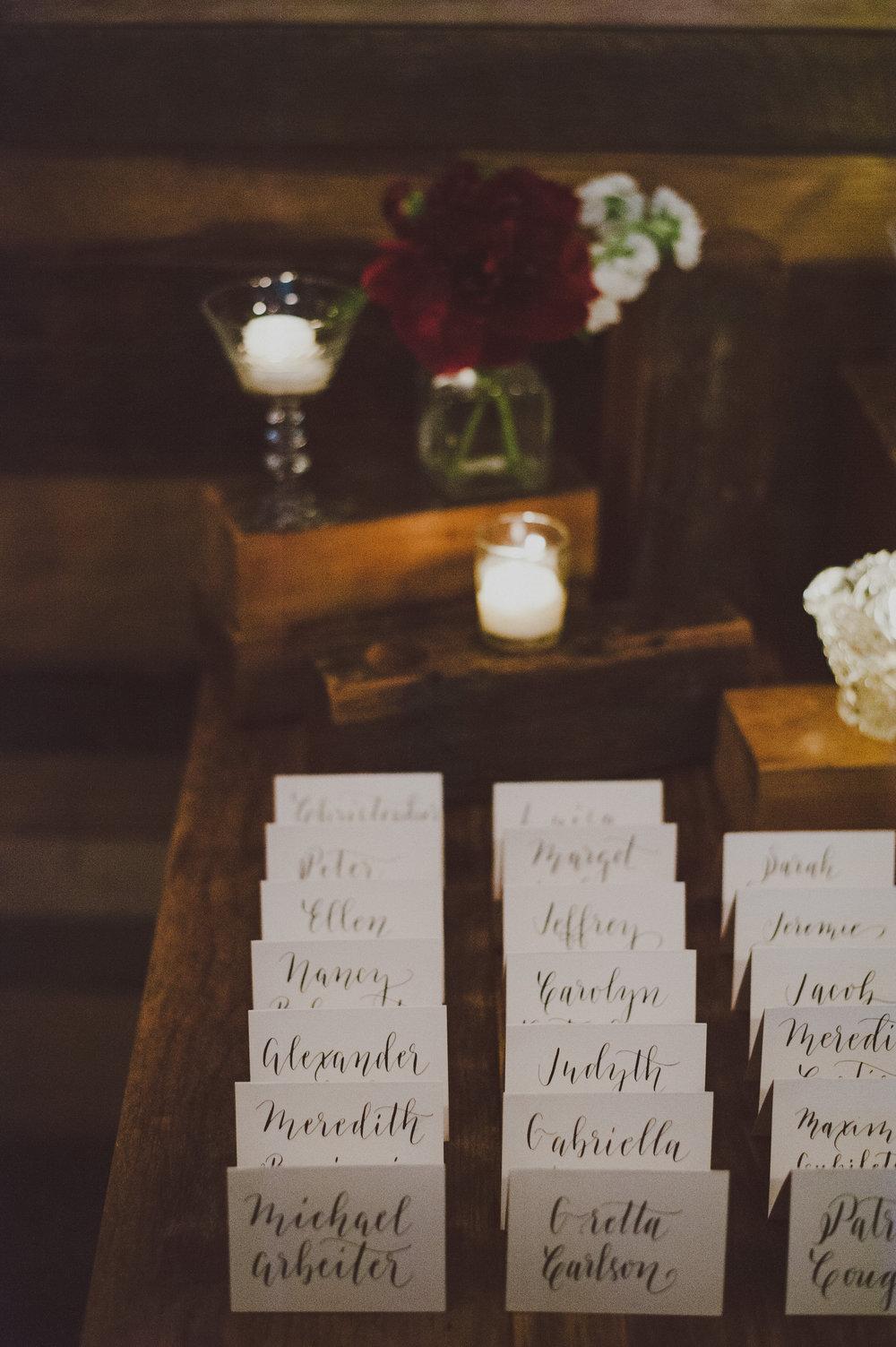 San Antonio Calligrapher South Texas Calligraphy Wedding Modern Calligraphy Weddings