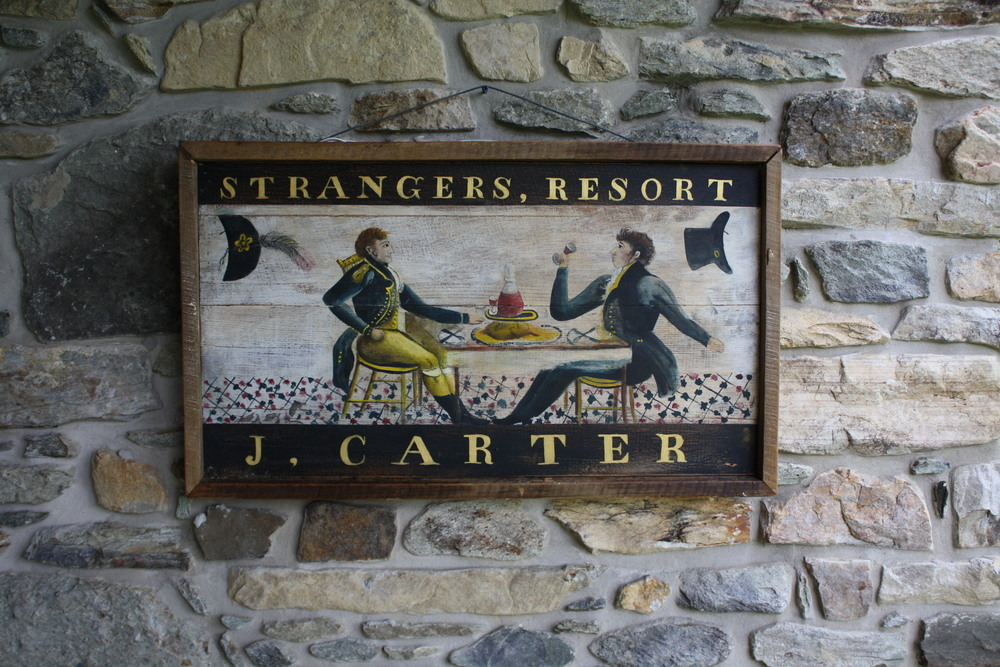 Sign for Carter's Inn, c. 1823 (Side 2)
