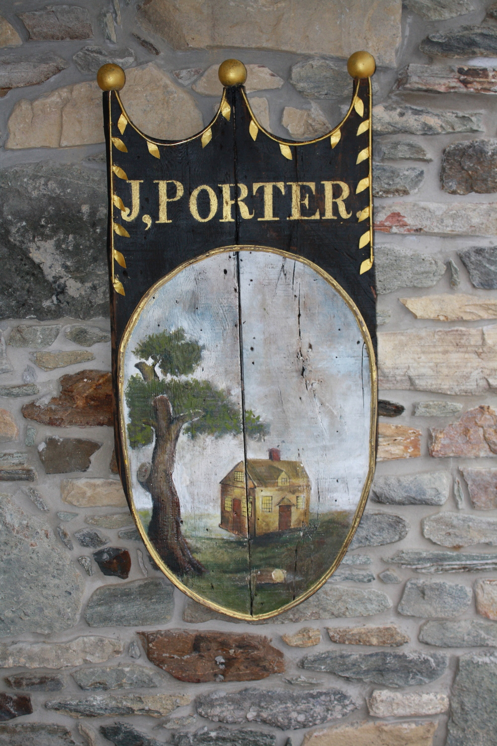 Sign for J. Porter's Inn