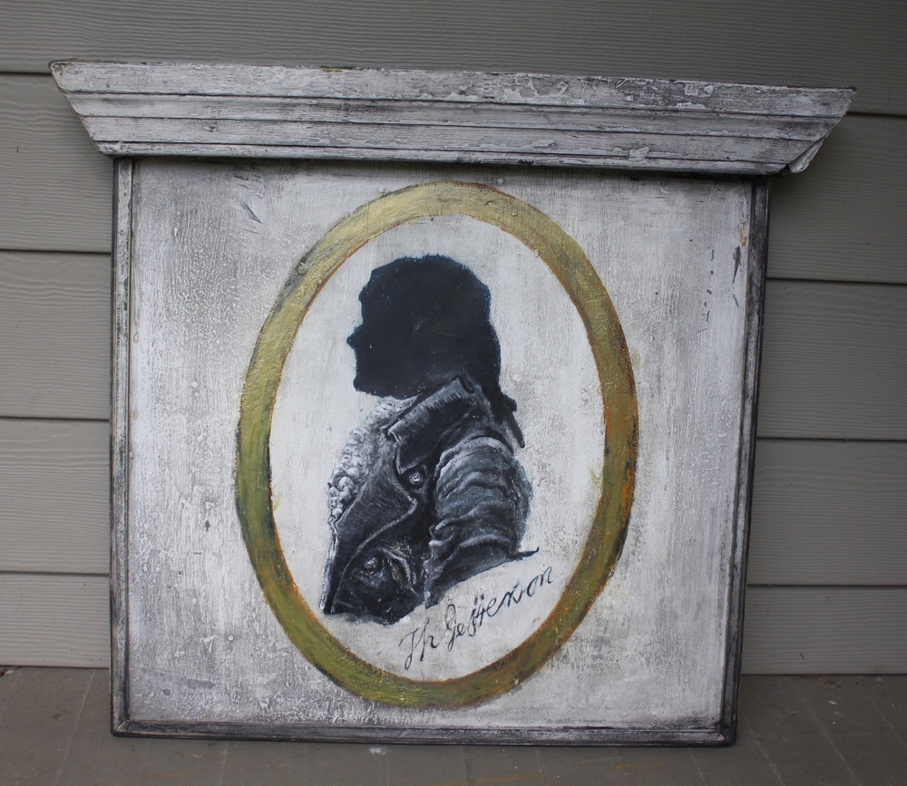 James Madison [silhouette sign]