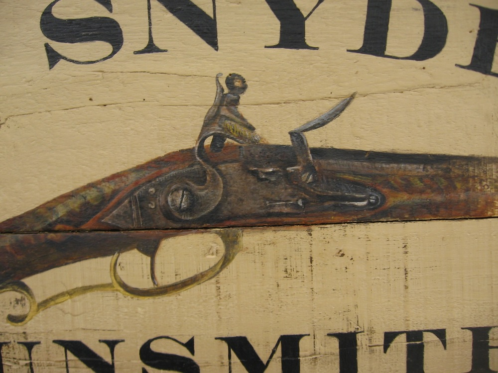Thomas Snyder, Gunsmith [detail]