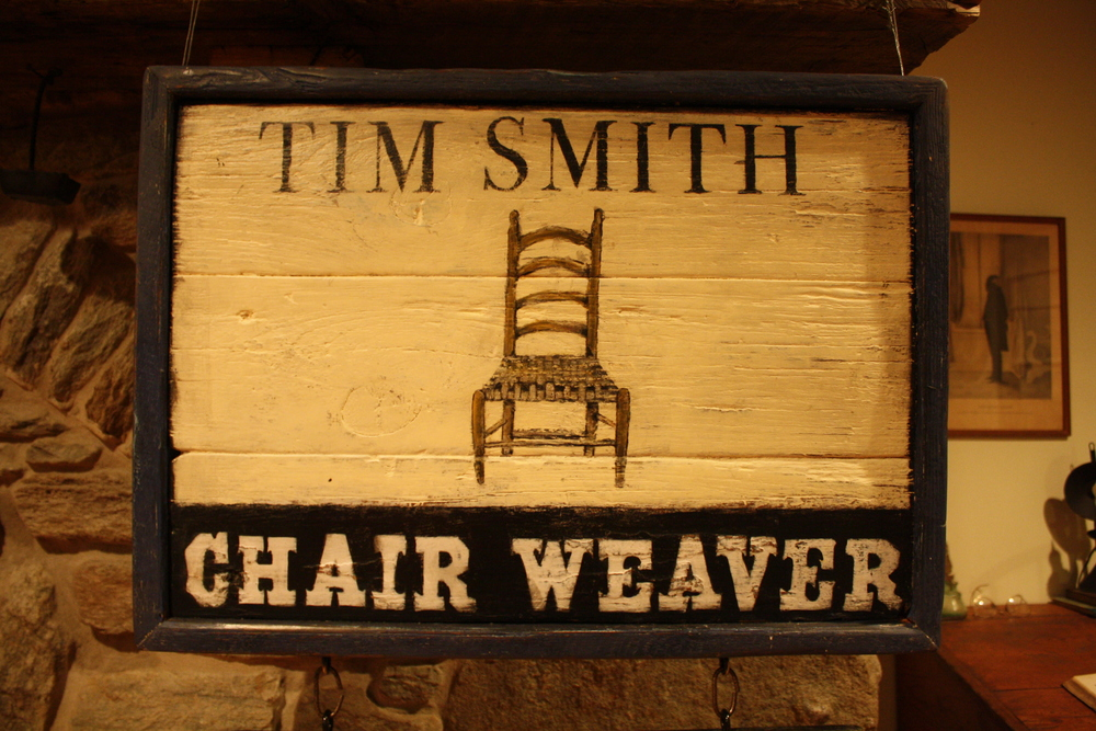 Tim Smith, Chair Weaver