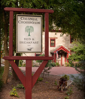 Colonial Crossroads Bed & Breakfast (post frame)