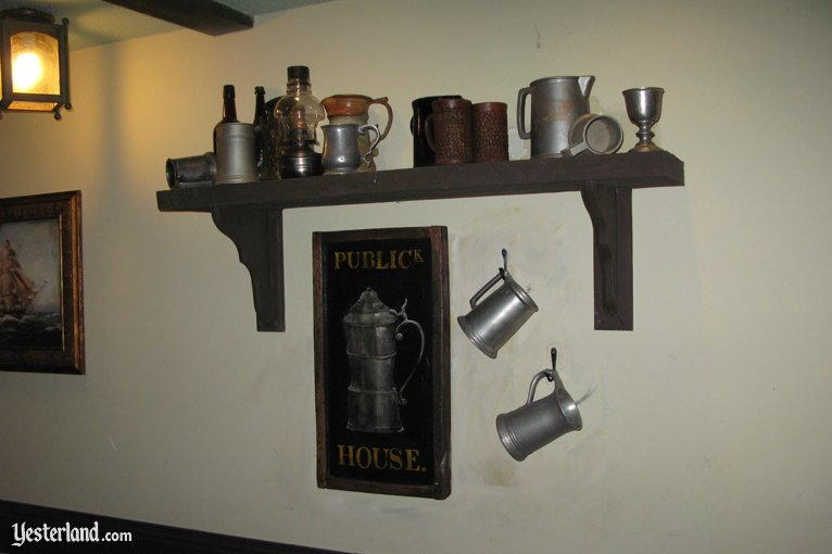 Publick House Tavern Sign (in situ)