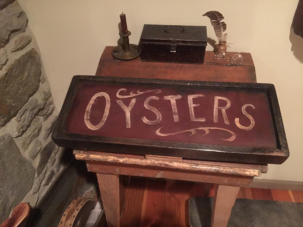 Oysters (Menu item)