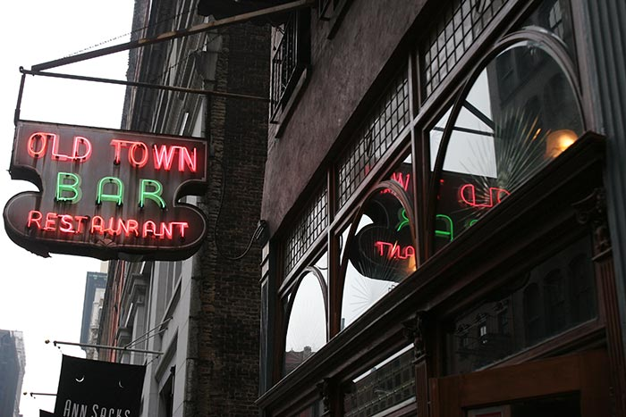 NYC's  Old Town Bar (Restaurant)