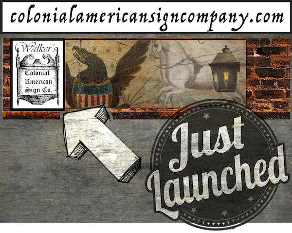 It's official! My new website design has been successfully matched with my original URL / address: colonialamericansigncompany.com