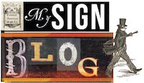 "Check out my ""Sign Blog"" and feel free to comment!"