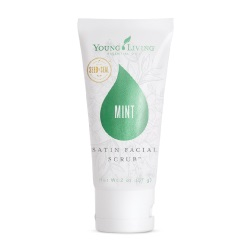 Mint facial scrub