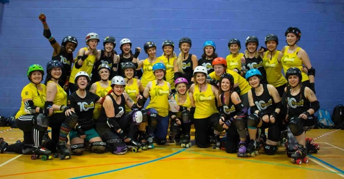 The Rising Stars teams. Image courtesy of Ali Maddock.