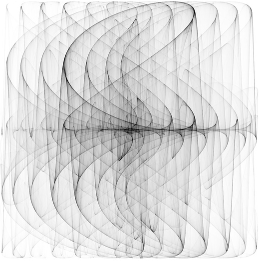 vjeranski: Holger Lippmann PDJ (08) 2009-11 | e-art.co based on the simple Peter De Jong map equations on tumblr and wowgreat