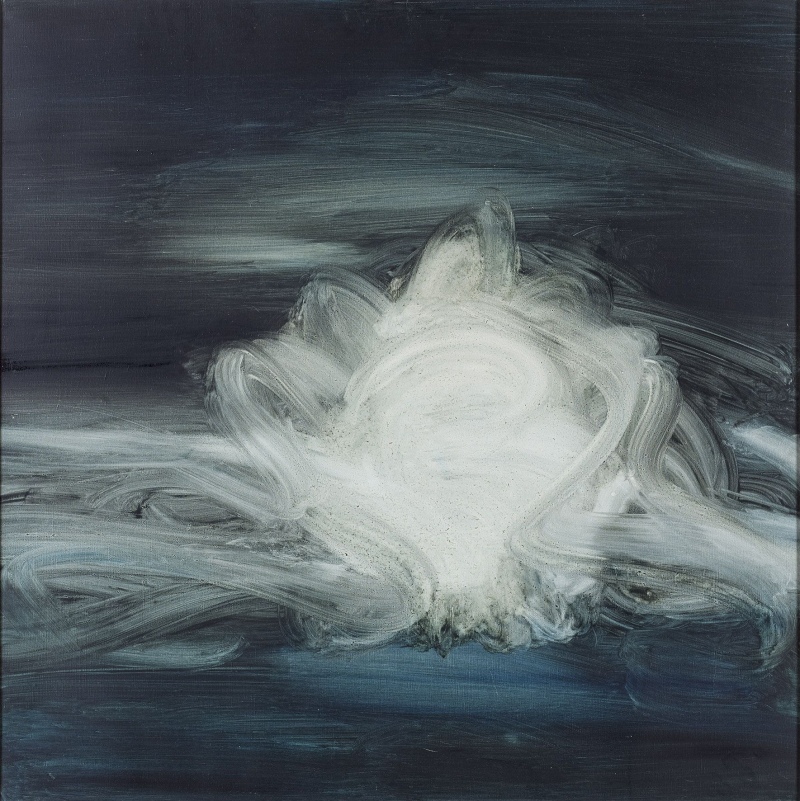thunderstruck9: Frédéric Benrath (French, 1930-2007), La nuit sans nuit [Night without night], 1960. Oil on canvas, 100 x 100 cm.