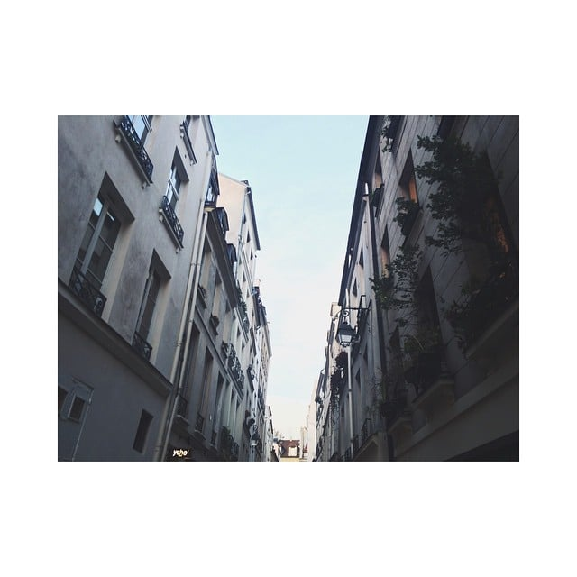 #paris#lemarais#streets#feelslikeineverleft