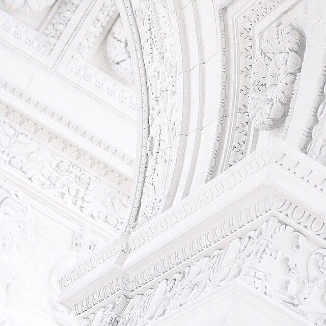 #white #details #architecture