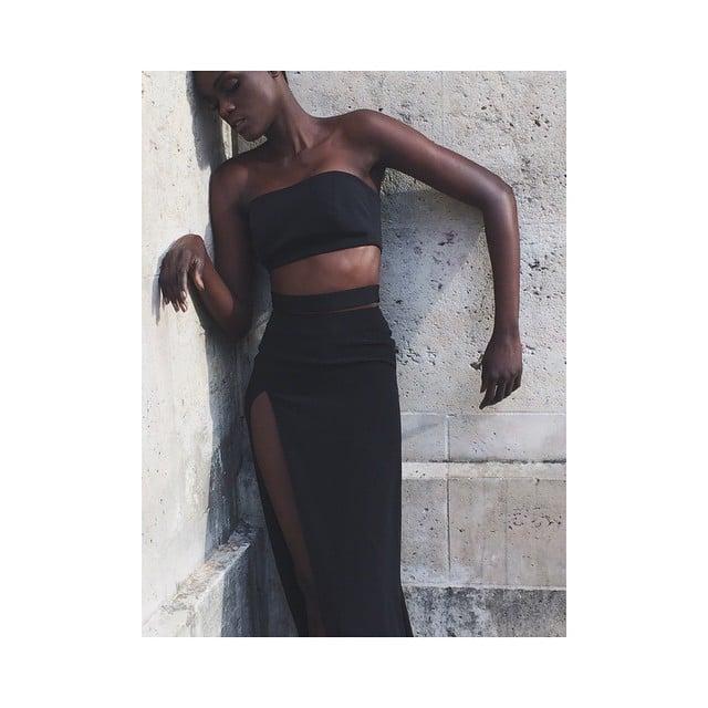 #black#editorial#ss15#paris#shoot#springsummer#2015#skirt#top#photography
