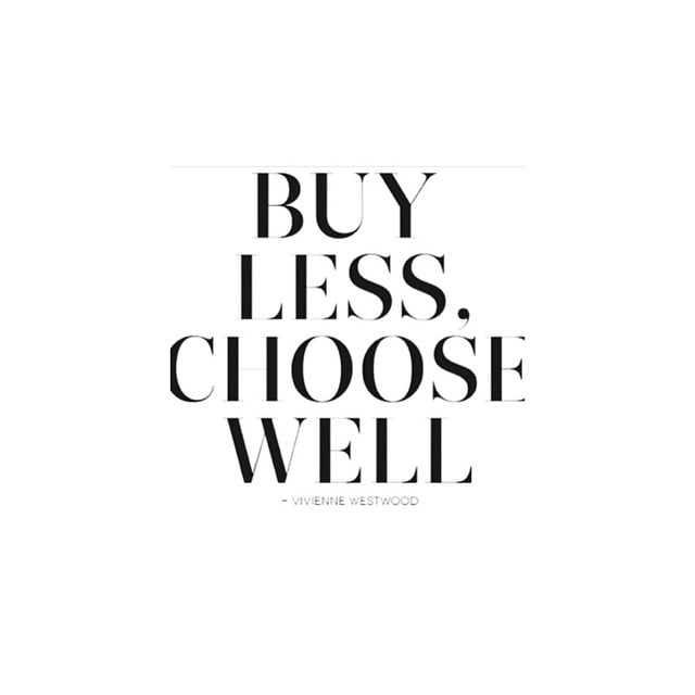 TRUE #viviennewestwood#lessclothes#alwaysbetter#shopping#choices