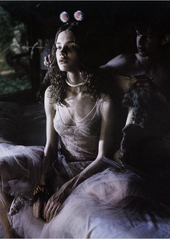 "dormanta: Natalia Vodianova in ""Fable Attraction"" by Carter Smith for W May 2002"