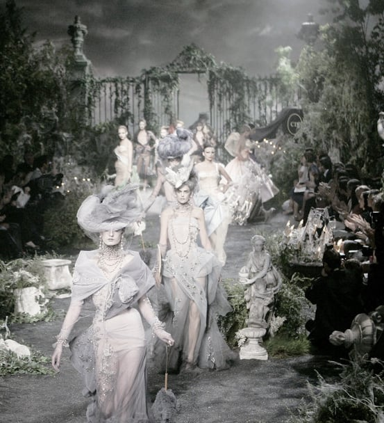 ejakulation: Finale at Christian Dior Couture under John Galliano, F/W 2005