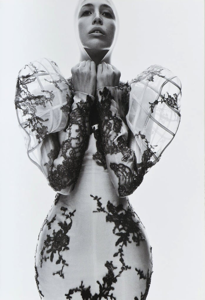 lee-enfant-terrible :     'Future Shock': Raquel Zimmermann in  Alexander McQueen Spring Summer 2007 ; photographed by David Sims for V #47, Spring 2007 Preview     (submitted by pauvres)