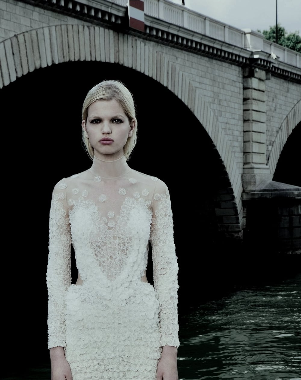 pradaphne: Daphne Groeneveld for Givenchy Haute Couture Fall/Winter 2011.