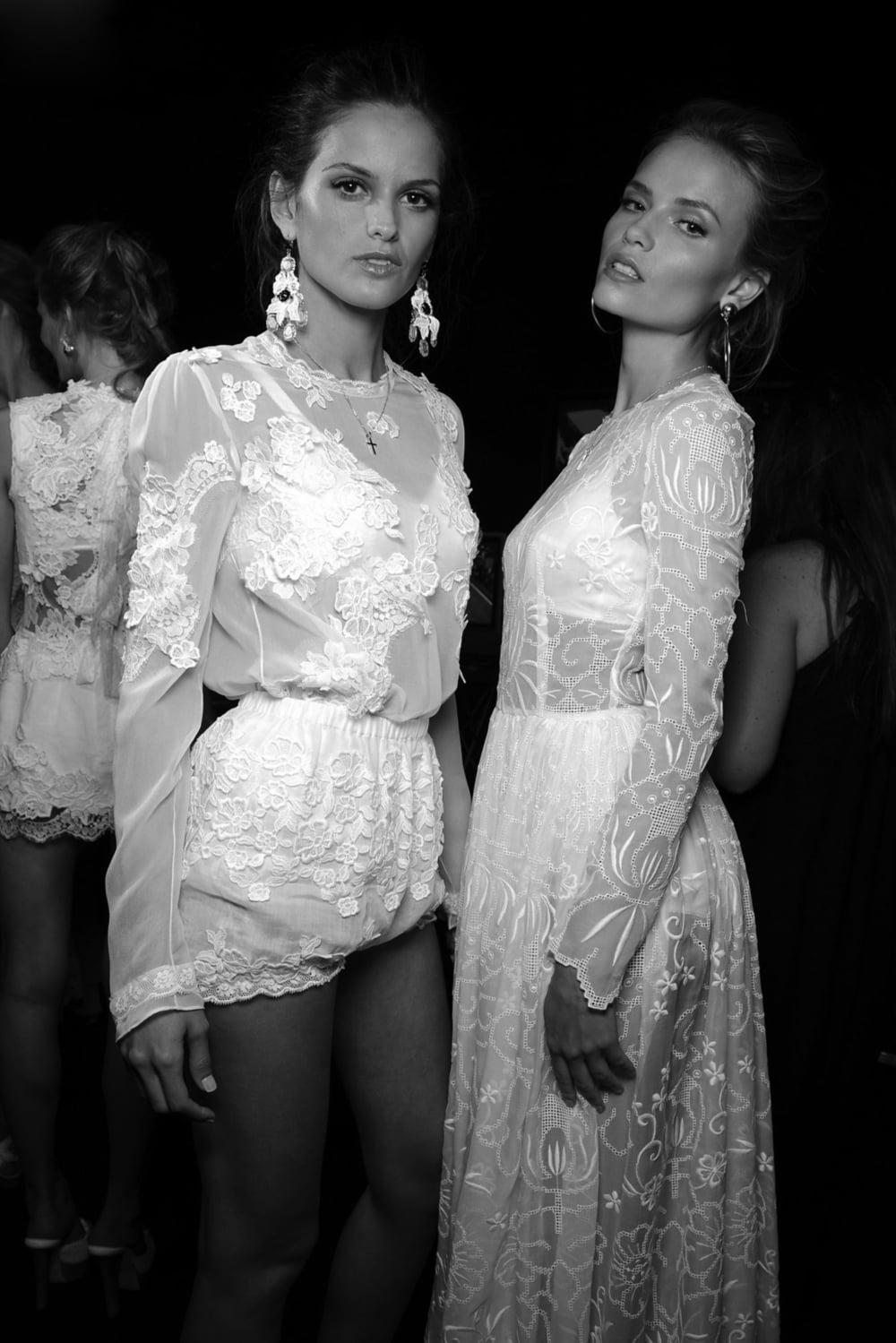 moda-milano: Backstage at Dolce & Gabbana 2011