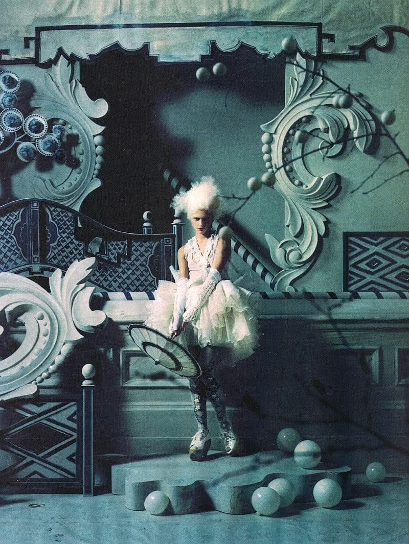 hellaween: Sasha Pivovarova by Tim Walker for Vogue UK March 2010