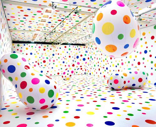 Yayoi Kusama, Dots Obsession – New Century, 2000