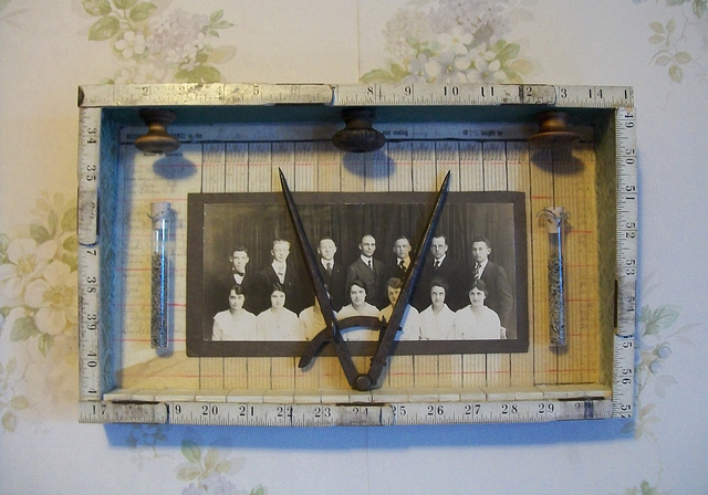Amy Hitchcock: Record of Attendance, 2011. Assemblage.