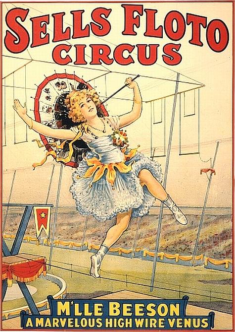 Sells Floto Circus poster