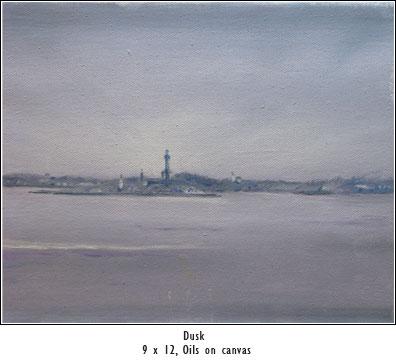 Ptown at dusk - Flynn, JW