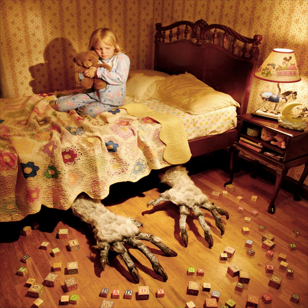 Joshua Hoffine: Bed, 2000's.
