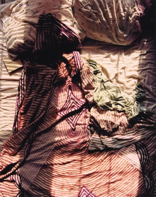 Tammy Rae Carland: Untitled (Lesbian Bed #1), 2002.