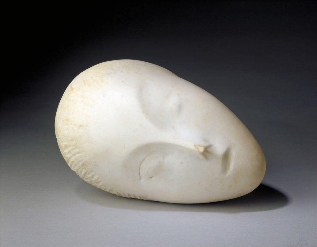 Constantin Brancusi: Sleeping Muse I, 1909-10.
