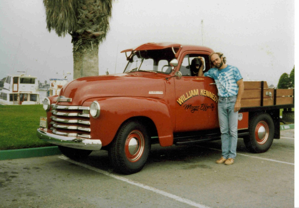 First WKmagic work truck. 1953 Chevy.