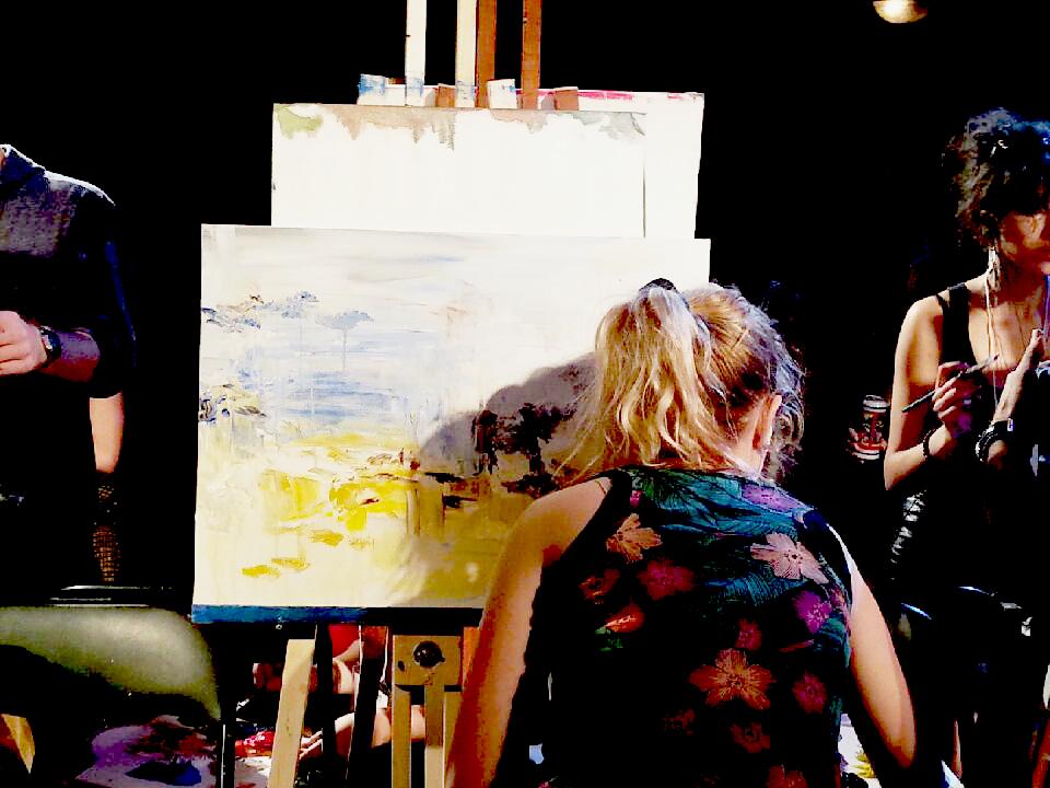 Art Battle; Kelsey Auger; Blog Post
